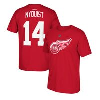 Gustav Nyquist Reebok Detroit Red Wings Player Premier Red Jersey T-Shirt Men's