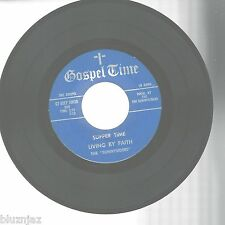 """45"""" EP- Gospel Time GT45 EP 1003~Supper Time/Surely I Will~ Plus (2)Sunnysiders"""