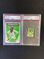 Derek Jeter 1993 Topps #98 PSA 8 Regular & micro