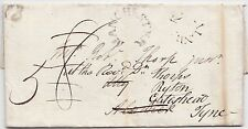 * 1798 MANCHESTER LETTER GEORGE DUCKWORTH REDIRECTED ALNWICK>  R THORP GATESHEAD