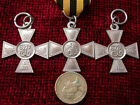Replica Copy Imperial Russian Cross of St George CHOOSE 3rd OR 4th Class