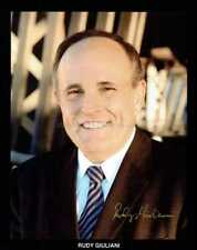 More details for rudy giuliani autograph *new york mayor* hand signed 10x8 photo