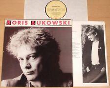 BORIS BUKOWSKI - same  (EMI 1985 + OIS / LP NEUWERTIG)