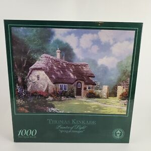 Jigsaw Puzzle 1000 Piece Thomas Kinkade Painter Of Light Spring At Stonegate New