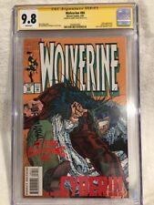 WOLVERINE #80 (1994) CGC 9.8 SS - Larry Hama 🔥 1st X-23 Cameo 🔥 - NYX X-Men