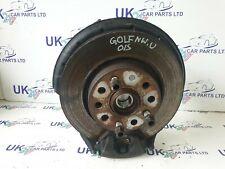 VW GOLF MK5 2004-2008 1.9TDI FRONT RIGHT  DRIVER WHEEL BEARING HUB AND CALIPER
