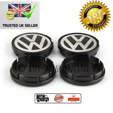 VW 55 mm TAPPI Centrale Cerchi In Lega x 4. GOLF JETTA PASSAT BEETLE. 6N0 601 171. UK
