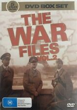 WAR FILES, THE Vol. 2 Feat. France, Italy, Pacific Island Battles, USA 5DVD NEW