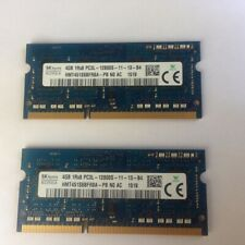 HYNIX 8GB 2x 4GB DDR3-1600 MHz SODIMM RAM PC3L-12800S 1Rx8 MEMORIA SODIMM