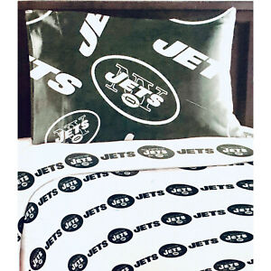NEW NFL New York Jets 3 PC Bed Twin Sheet Set with One Pillow Case Cover