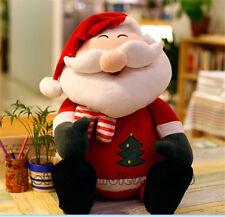 32'' Big Santa Plush Toys Soft Cushion Stuffed Decor Doll Disney Xmas Gifts 80CM