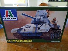 Modellbausätze 1:72 panzer Italeri  T 34/76  M 1942  No.7008