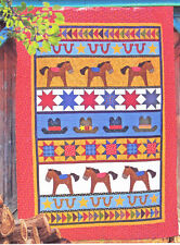 High Noon - fun applique & pieced quilt PATTERN - Me & My Red Boots