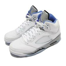Nike Air Jordan 5 Retro V AJ5 Stealth 2.0 blancas híper Hombres Azul Real DD0587-140