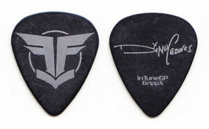 Fear Factory Dino Cazares Signature Black Guitar Pick - 2012 Tour