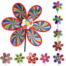 DIY Windspiele Windrad Windmühle Windräder Spielzeug Gartendeko Party Geschenk