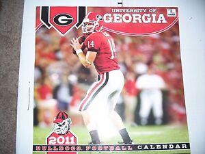 Georgia Bulldogs 2011 Calendar by Perfect Timing - Turner  H5