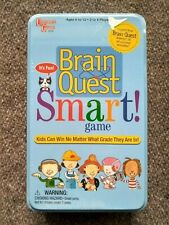NEW Brain Quest Smart Game Grades 1-6 SEALED in Tin Box Educational 2-4 Players