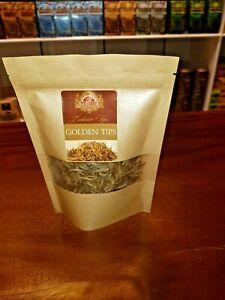 BASILUR CEYLON TEA GOLDEN TIPS 100% PURE CEYLON TEA LOOSE LEAF TEA 50g Net