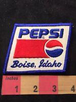 Vintage BOISE IDAHO PEPSI COLA Advertising Patch 88AC