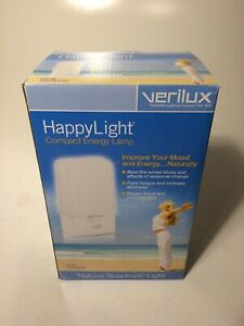 Verilux Compact Happy Light 2500~Model VT01-SB~Beat the Winter Blues