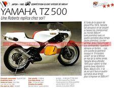 YAMAHA TZ 500 ( TZ500 ) 1982 Fiche Moto 000259