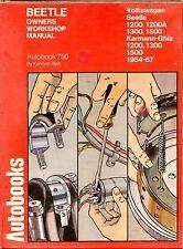 AUTOBOOKS WORKSHOP MANUAL 750 - VOLKSWAGEN BEETLE, 1954-67 - KENNETH BALL (1974)