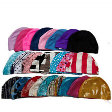 Valuable Adult Polyester Swim Cap Flexible Durable Elasticity Swimming Hat Nice