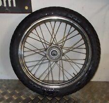Honda CM 125 REBEL . Roue Jante AV avant + pneu