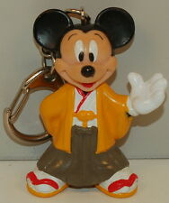 """New listing 2.25"""" Mickey Mouse Keychain Pvc Plastic Action Figure Toy Disney"""