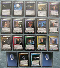 Star Trek CCG The Dominion Uncommon Cards 22 - 40, Part 2/2 (1E)