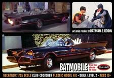 Batman 1966 Batmobile w/ Batman and Robin figures Polar Lights 920 1/25