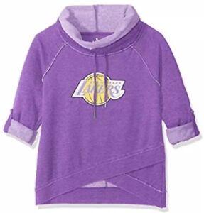 Touch Alyssa Milano LA Los Angeles Lakers Hardwood Classics Sweatshirt Large L