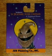Rare Nightmare Before Christmas Oogie Boogie Resin Face Magnet Jun Planning 2001