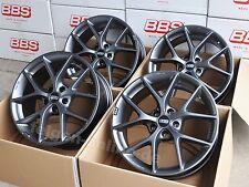 BBS SR himalaya grau 4 Felgen 7,5x17 Zoll ET45 SR005 für VW Passat 3C + B8