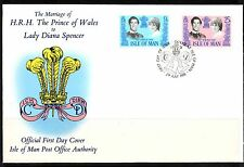 Royalty Manx Regional Stamp Issues