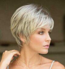 MEGAN Noriko Wig $SALE Sandy Silver Semi-Wedge Short Style BEST PRICES Reg $156