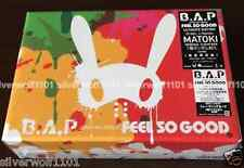 New B.A.P FEEL SO GOOD First Limited Edition [CD+Bag+Card] KICM-91698 Japan F/S