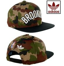 adidas Originals NBA Brooklyn Nets Baseball Cap Snapback Camo Camouflage Army UK