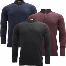 Men's Thin Knit Collared Cotton Jumpers & Cardigans
