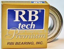 6203 Z, 6203 ZZ Premium Bearing 17x40x12 ABEC3/C3, EMQ Bearing (RBT) (2O146)