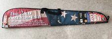 "52"" Rifle Case with Combination Locking Zipper 2nd Amendment USA Flag by Vaultz"