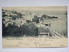 Gruss aus ABBAZIA Istria Sudlicher Teil vecchia cartolina