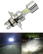 H4 Motorcycle LED Headlight Hi/Lo Beam Front Light Bulb Lamp For Royal Enfield