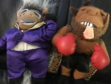 Lot Of 2 Infamous Meanies DonKeyng (Don King) & Mike Bison (Mike Tyson)