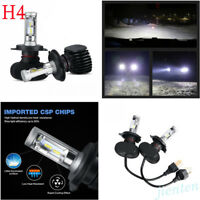 High Quality 6500K H4 9003 HB2 4000LM Hi/Lo COB LED Headlights Bulbs Fog Light