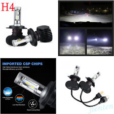Supper Bright 6500K H4 9003 HB2 4000LM Hi/Lo COB LED Headlight Bulbs Fog Lamp