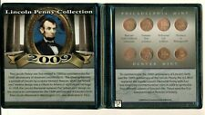 First Commemorative Mint 2009 Lincoln Penny Collection Set of 8 Coins(OOAK)