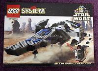 Lego 7151 Star Wars Sith Infiltrator  Bauanleitung sehr guter Zustand