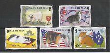 I.O.M 1996 MANX CATS SG,678-682 UM/M N/H LOT R117